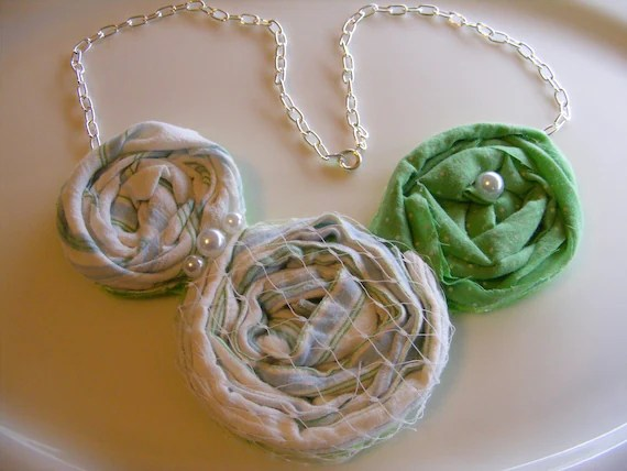 You R One Of A Kind Rosette Necklace