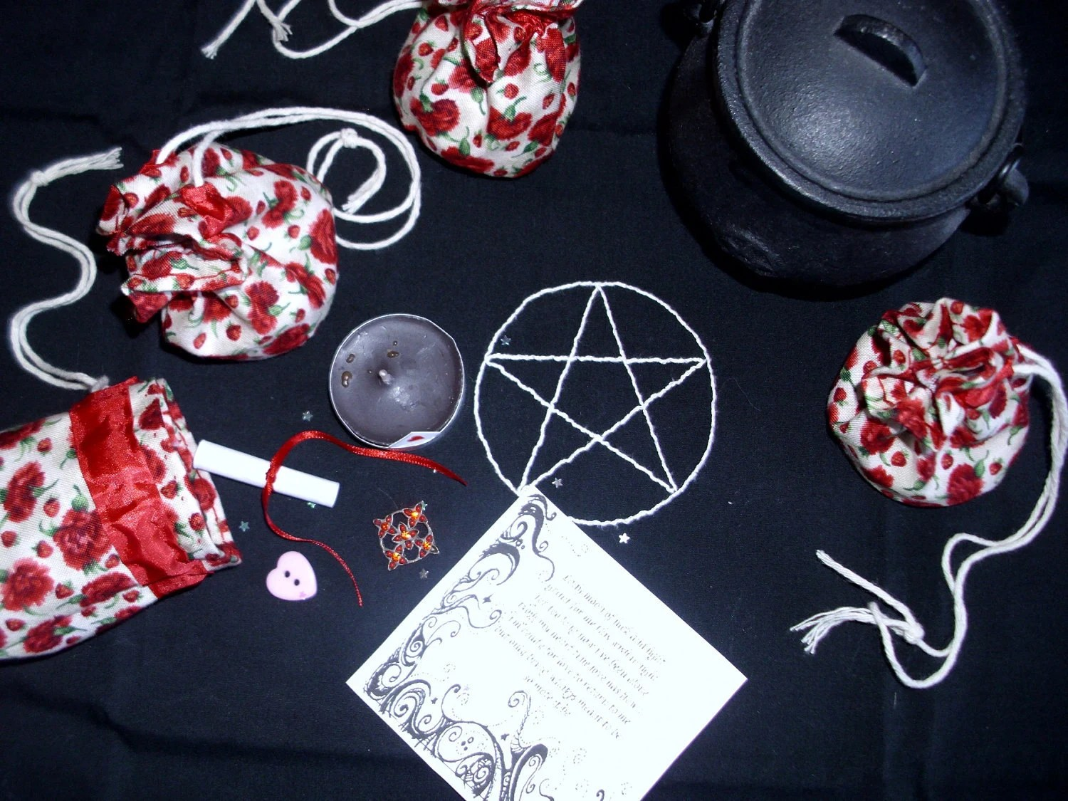 Love Spell Pouches