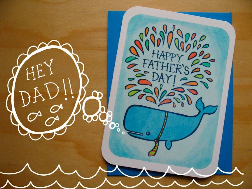 Happy Father's Day Notecard