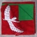 ON SALE  Flannel Christmas blanket and 3-pack of burp cloths set