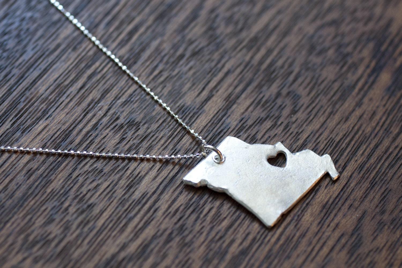 i heart Missouri necklace by truche