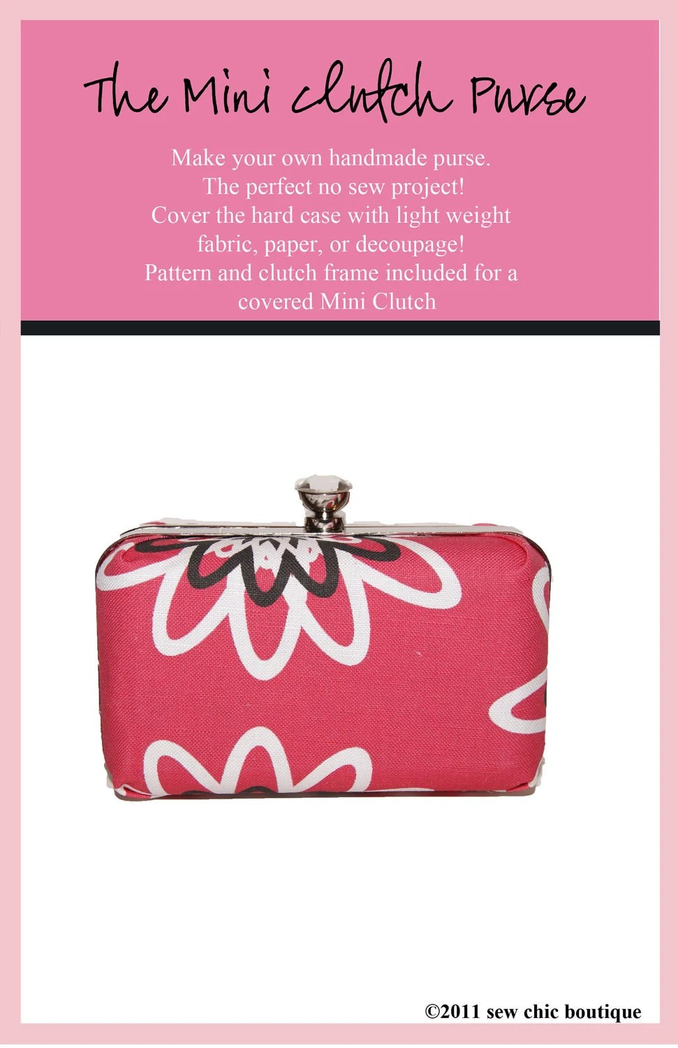 Mini Clutch Purse Kit