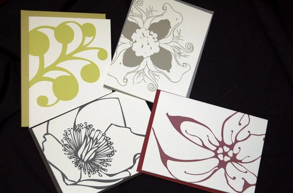 Modern Blank Card - Mixed Pack