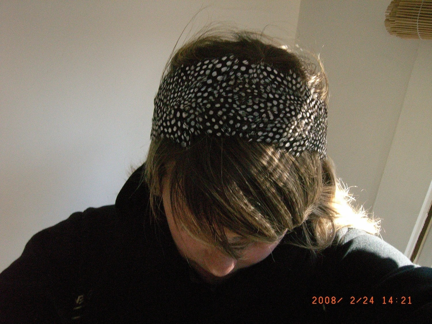 Polka Dottie Wide Headband