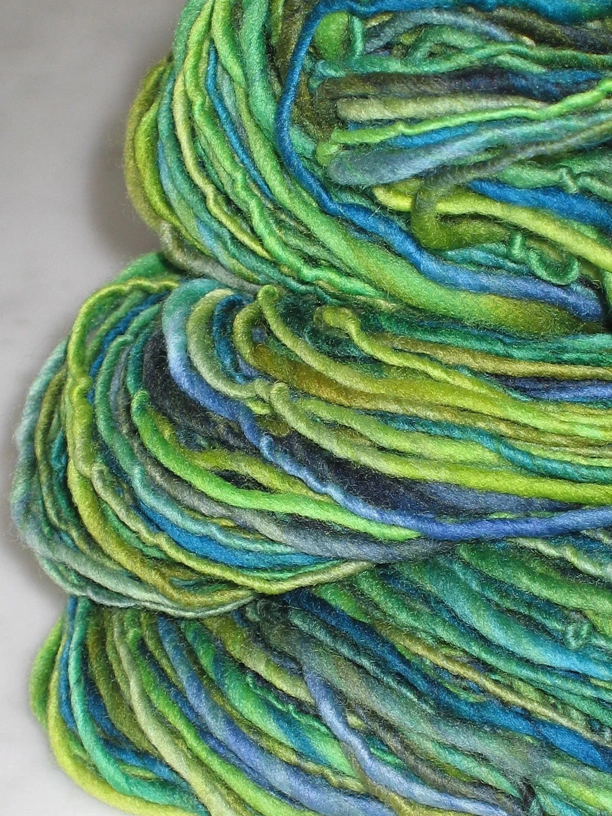 VERDI -handspun and handpainted pure merino yarn by pancake and lulu