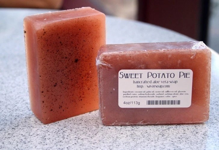 Sweet Potato Pie Aloe Vera Soap