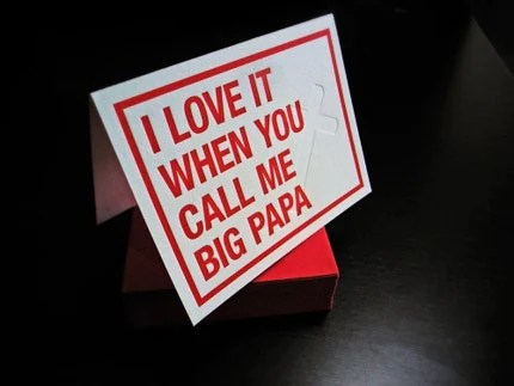 PRE-ORDER // Stank Sentiments 5. Call Me BIG Papa