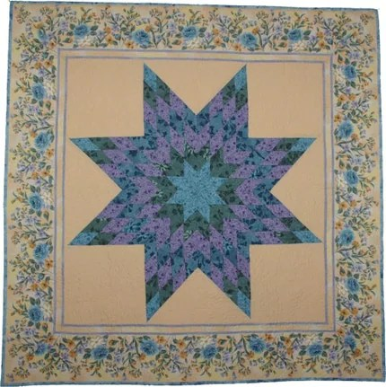 SALE Guild Boutique Handmade Lone Star Wall Quilt  CPSIA Special