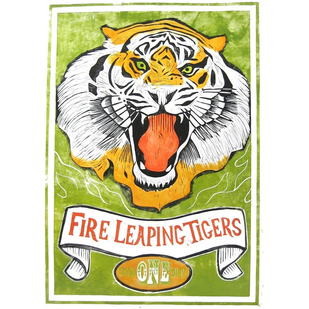 Fire Leaping Tigers