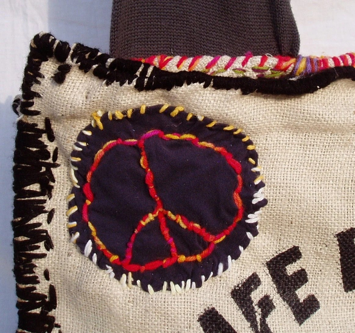 Hippie Bag - Hong Kong Willie Peace Bag - FREE SHIPPING