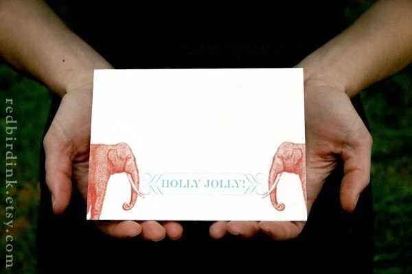 Jolly Elephant Card Image