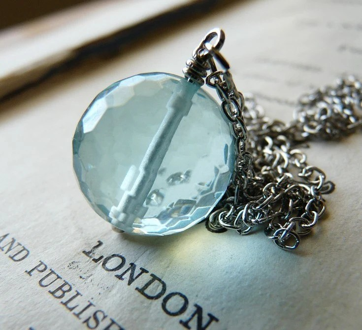 Spring Rains will come again - Necklace
