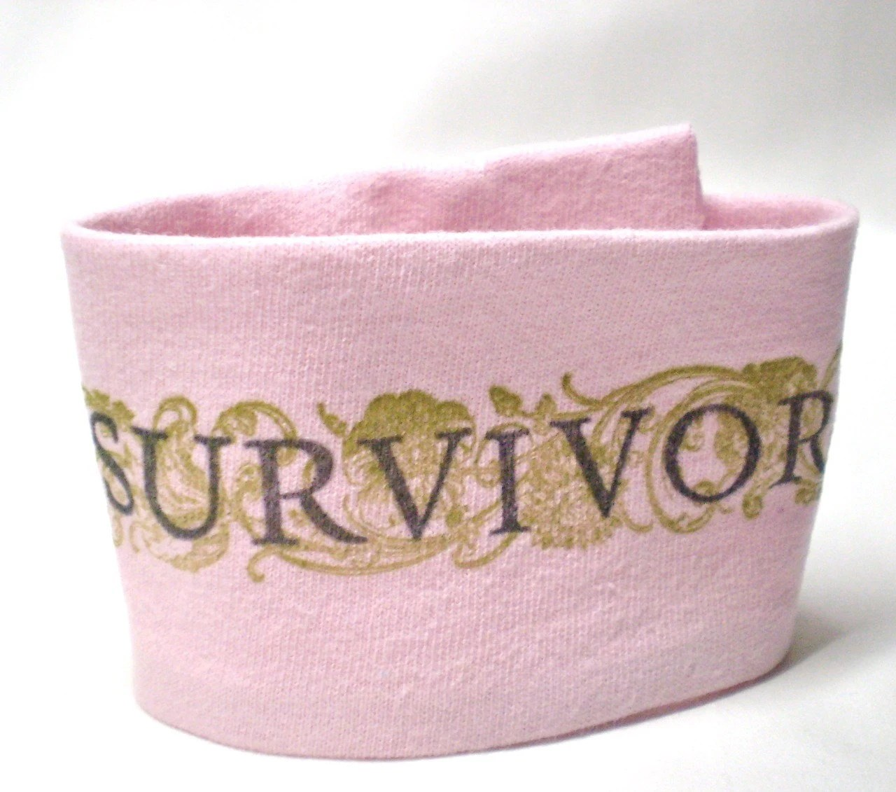 Wrist Cuff Wallet - Breast Cancer Awareness - Eco-Friendly