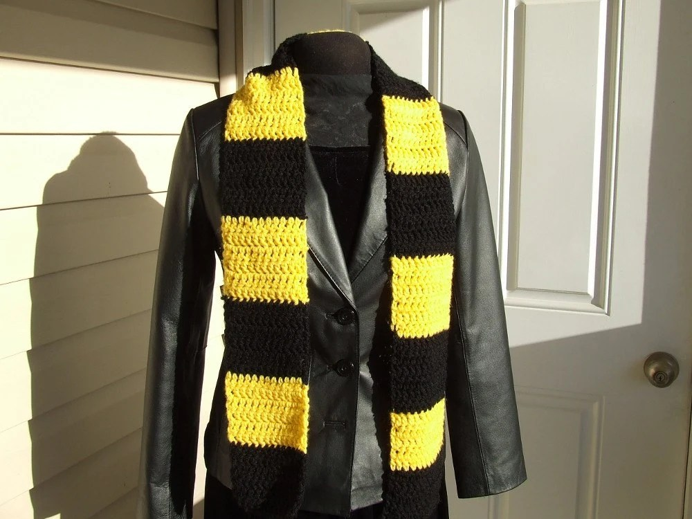 Black & Gold Scarf