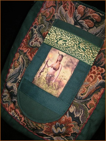 FREE SHIPPING Guardian of the Forest Tote Shoulder Book Bag