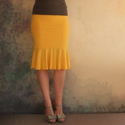 Daffodil Skirt - Bamboo - Made To Measure