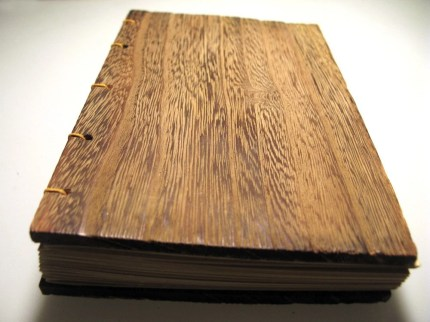 Wooden handcrafted Sketch/Journal Book