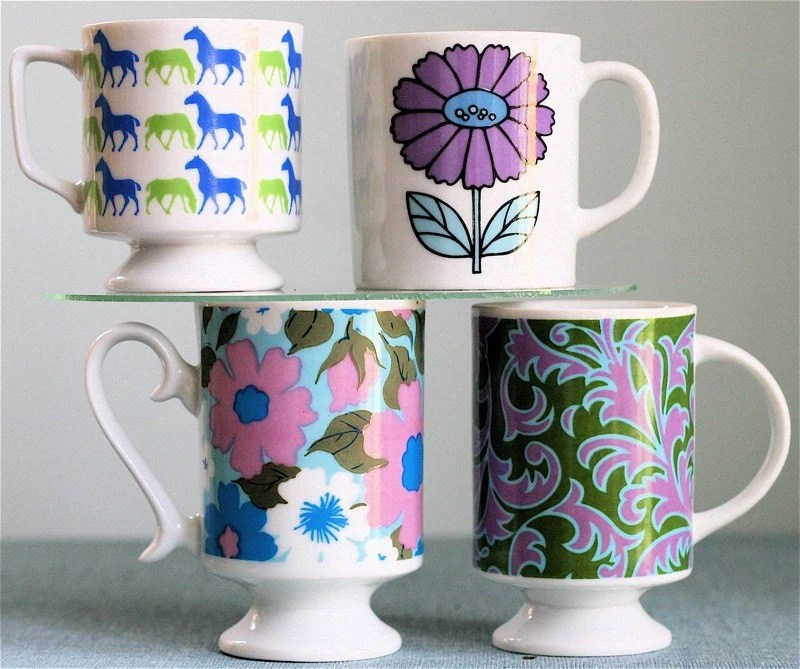 Instant Mug Collection --plum equestrian--