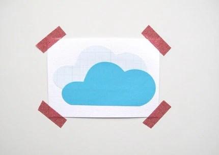 аппликация облако