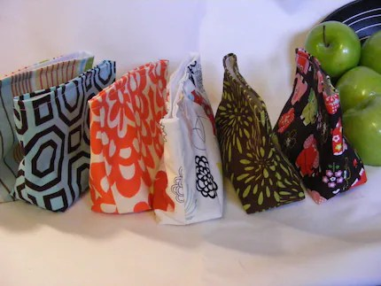 Pack A Lunch- Your choice- Mix and Match- Reusable Sandwich and Snack Bags