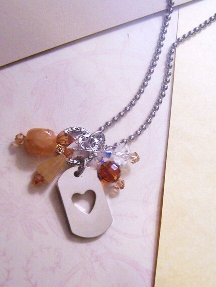 A Charmed Life Necklace / Caramel