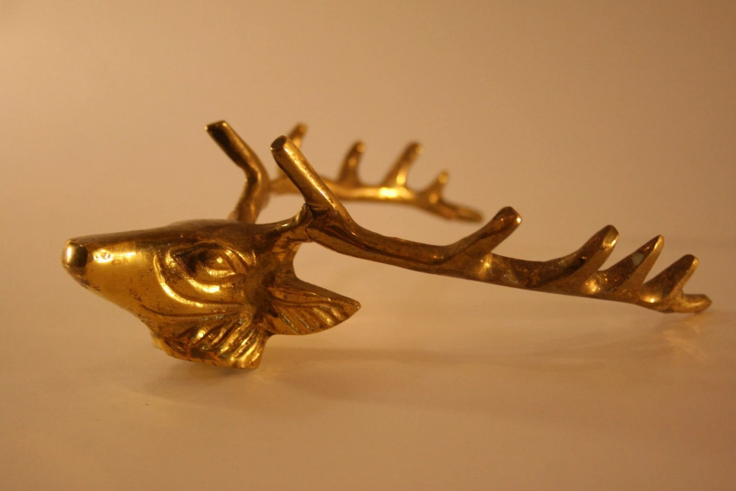 Gold Antler Wall Hook