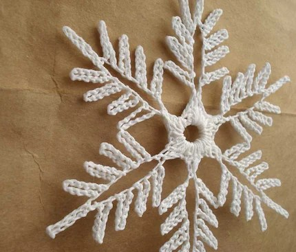 snowflake ornament - design 1
