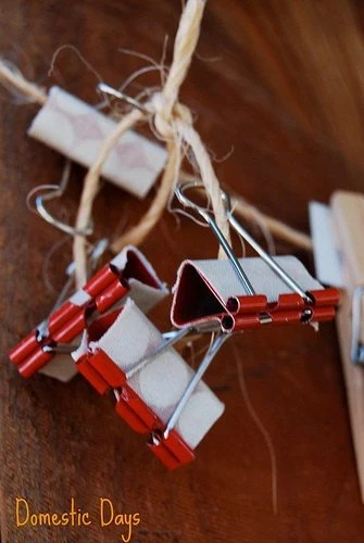 Clothes pins and binder clips