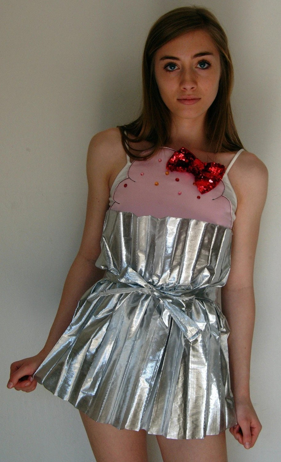 Cupcake DRESS with sprinkles and a cherry on TOP