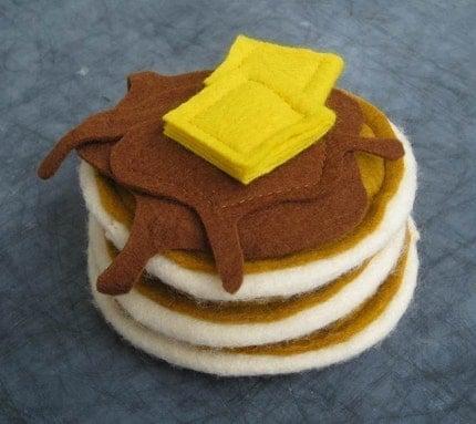 Pancakes Felt Food