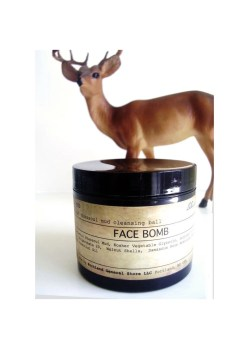FACE BOMB - natural, vegan rhassoul mud cleansing ball