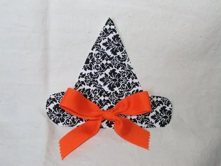 DIY Witch Hat applique, no sew, iron on, Halloween