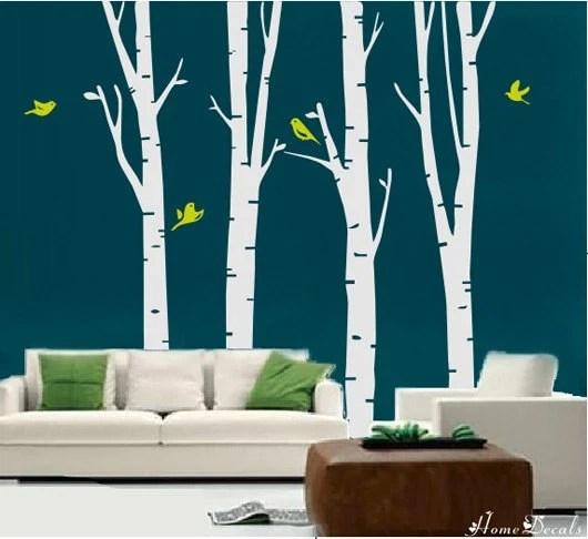 Vinyl Wall Art Stickers---FALL TREE---Home Decor Murals Vinyl Decals Tattoos