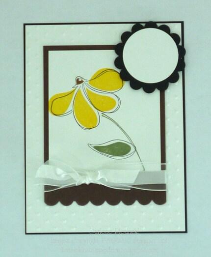 Design A Card-Yellow