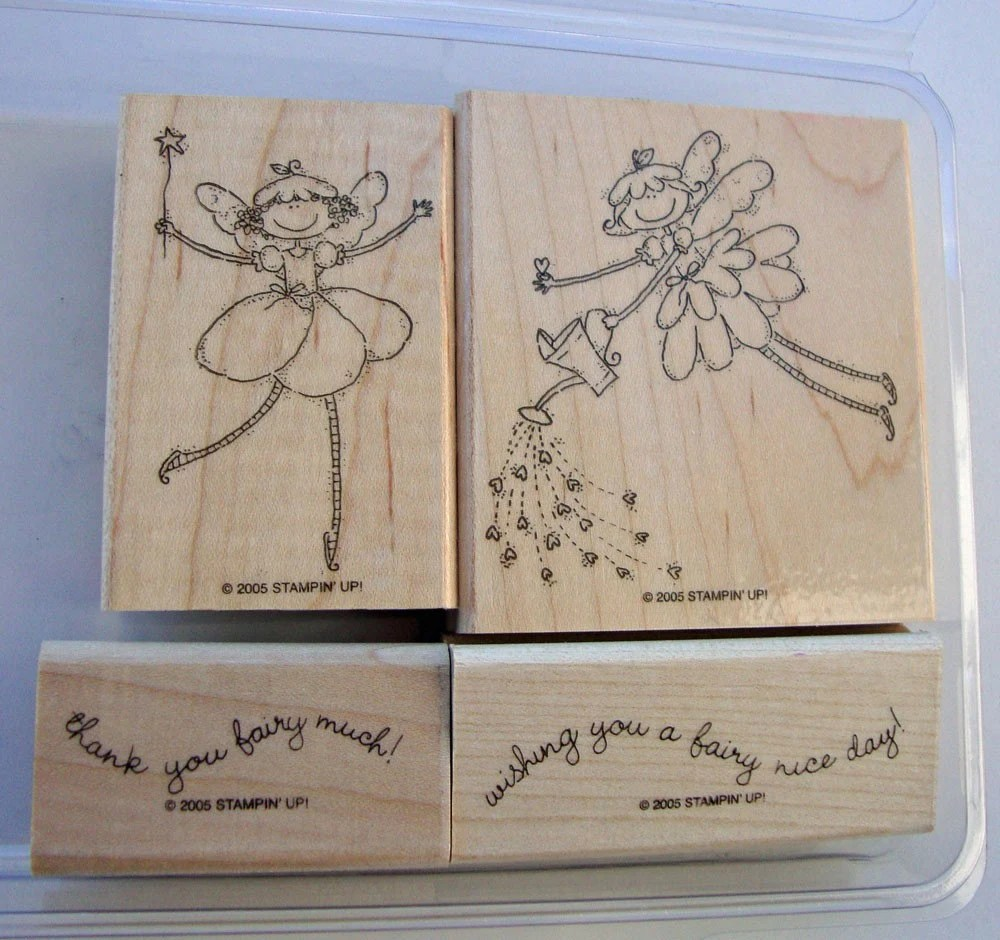 Fairy Nice Day, Stampin UP Stamp Set, DESTASH