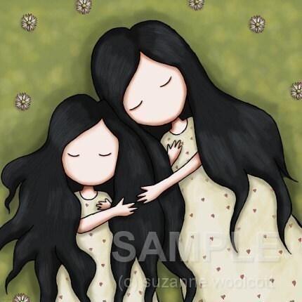 Daughters - 8 x 8 Semi-Gloss Print