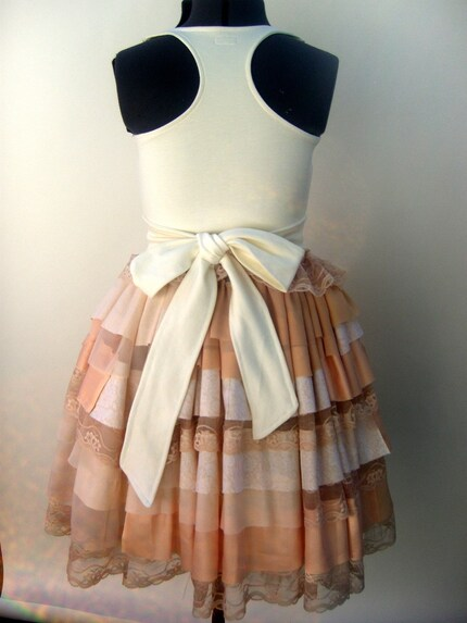 Peaches n Cream Party Dress