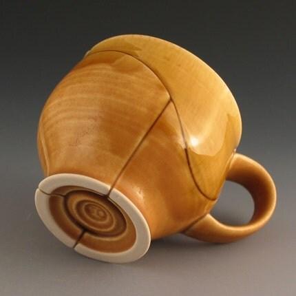 Amber Curve Mug