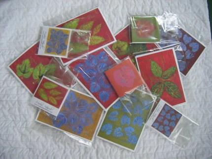 Botanical Notecards
