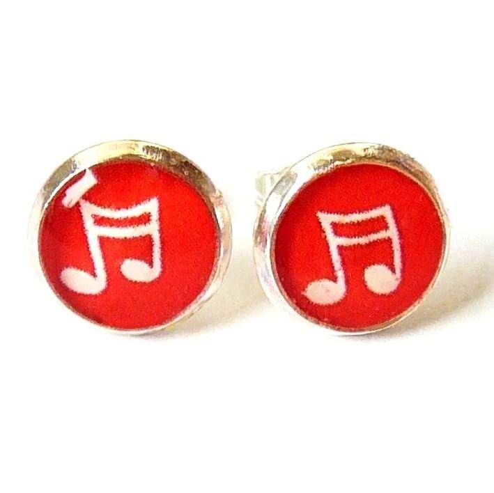 Feel the Music Earrings