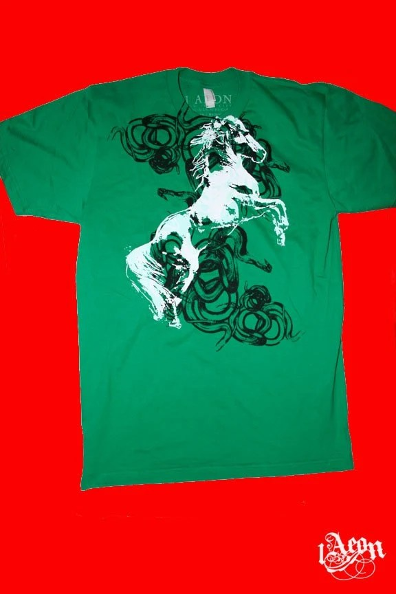 Snake and Horse Tee from 1AEON