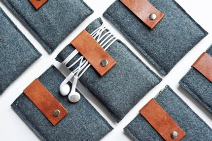 Gadget Case - Recycled Wool