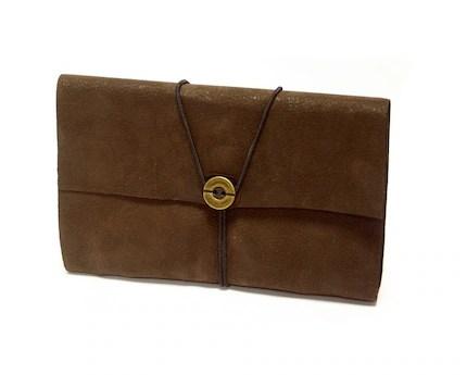 Y handmade leather journal