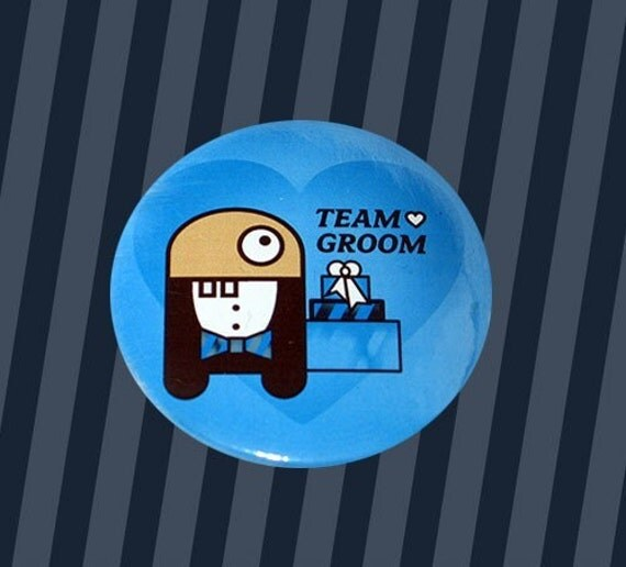 Team Groom ID Button 2
