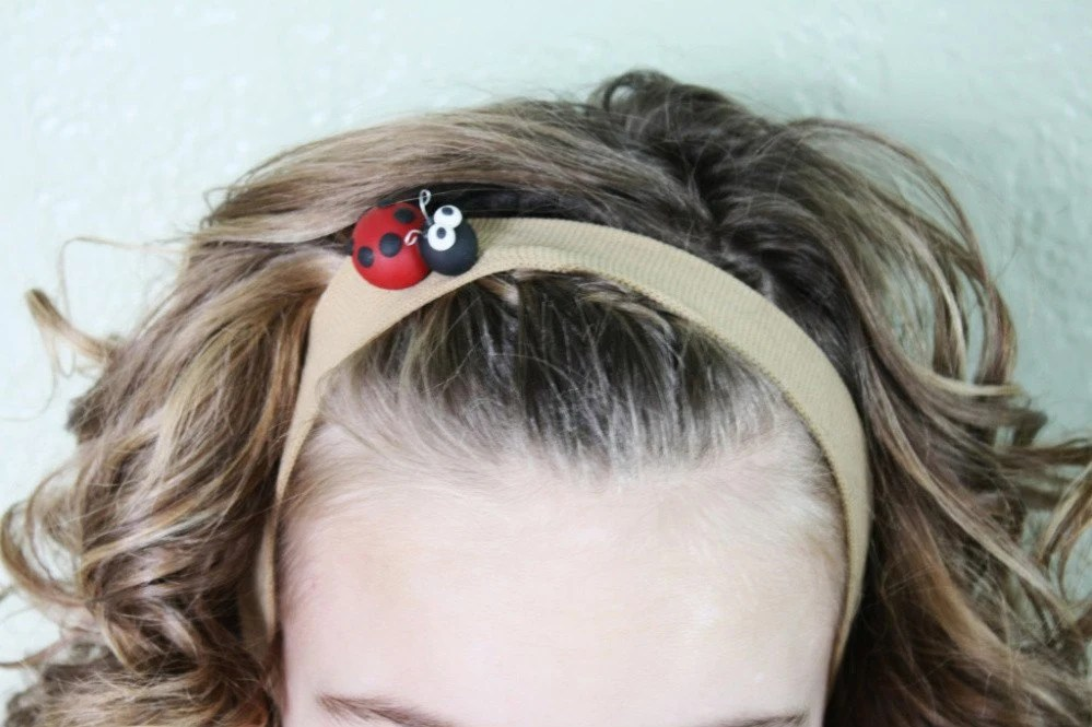 Lady Bug Headband