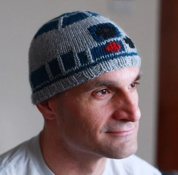 Star Wars R2D2 Droid beanie hat
