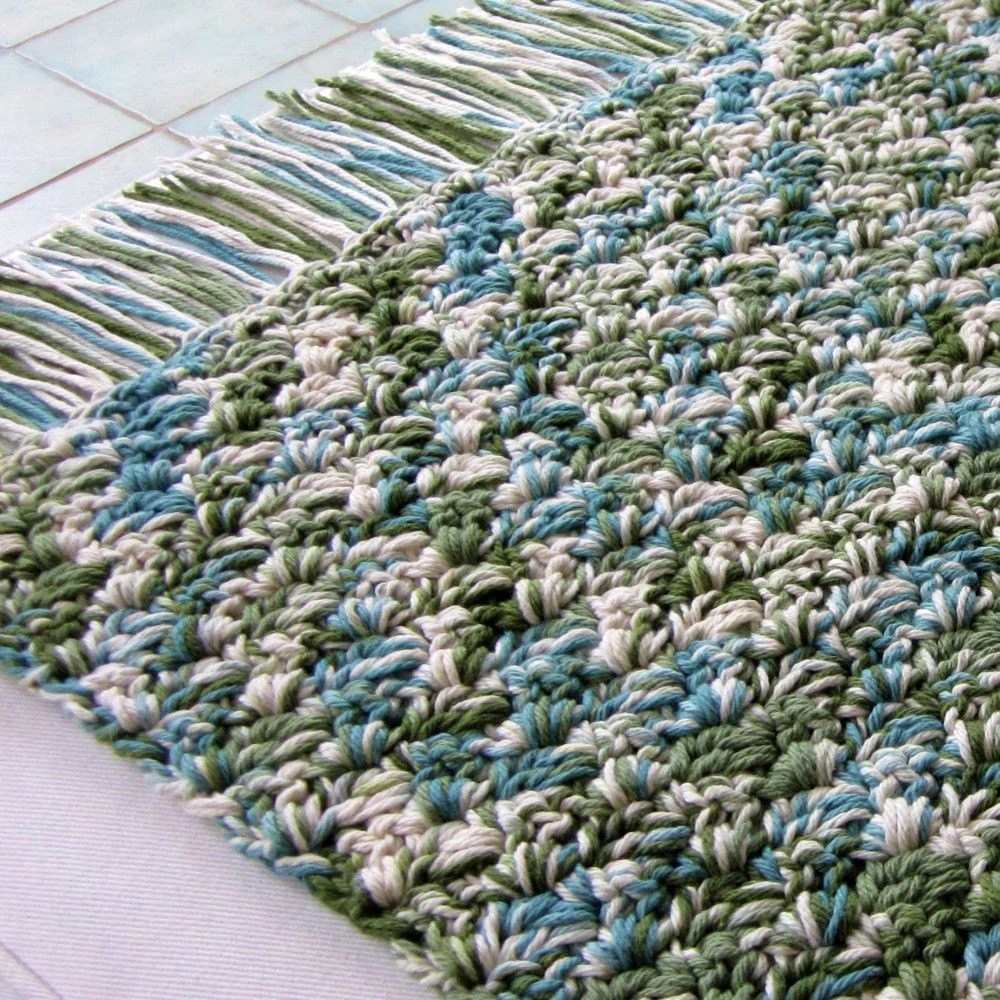 Cotton Rug (Sea Dream)