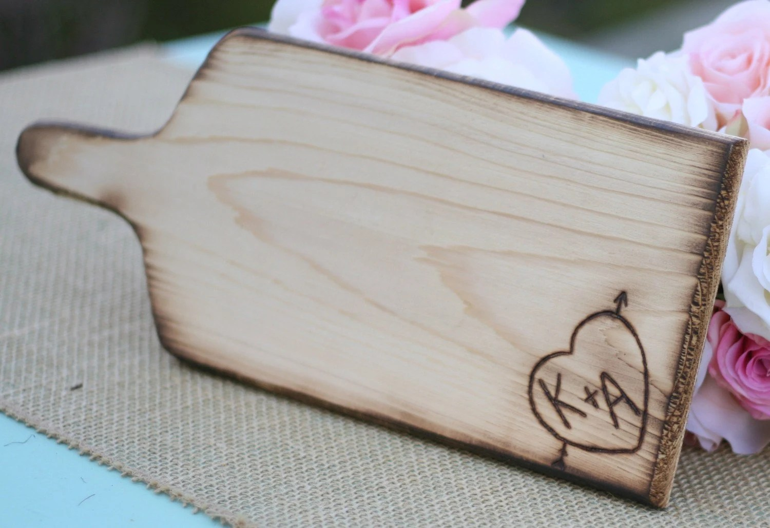 Northern White Cedar Cooking Grilling Plank OR Cutting Board Personalized