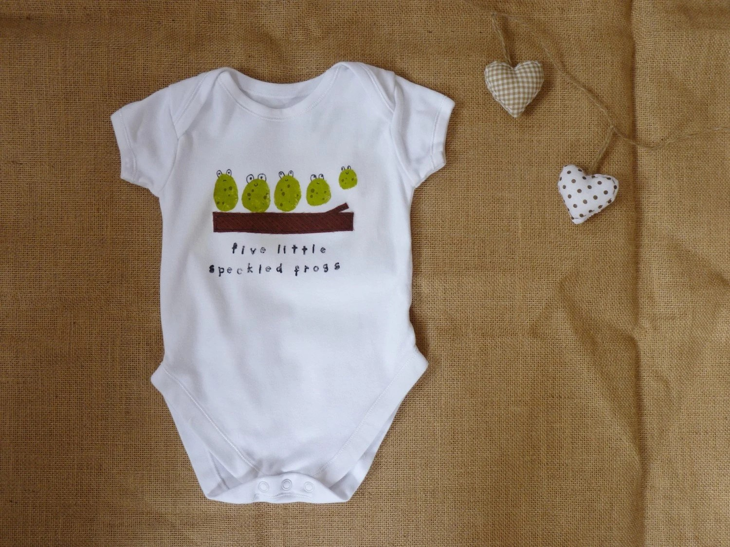 Five little speckled frogs onesie. Newborn - 2T. F r e e  S h i p p i n g