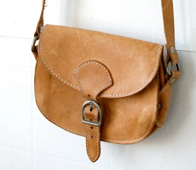 Small Buckle Satchel